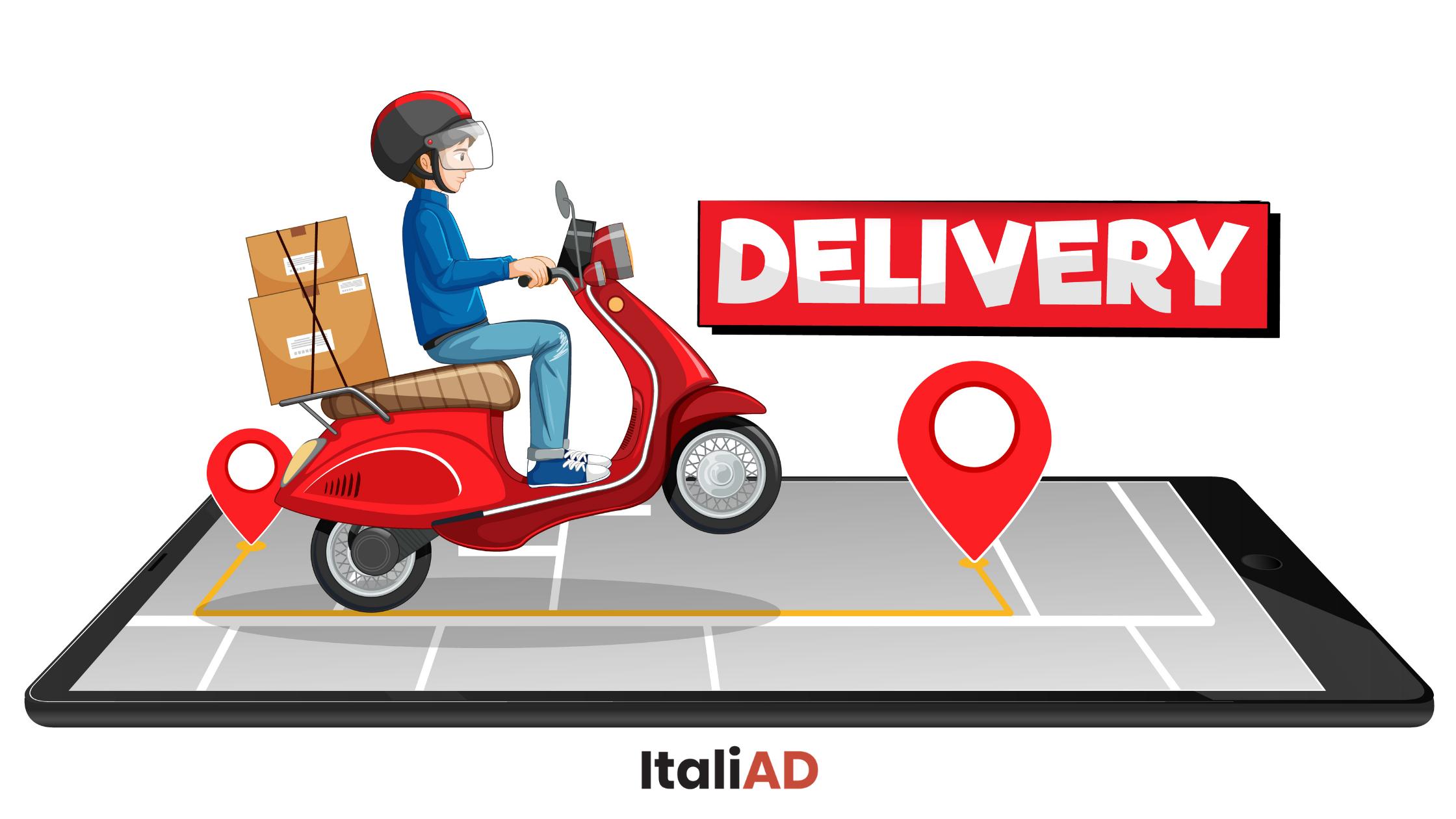 Il successo dei servizi di delivery