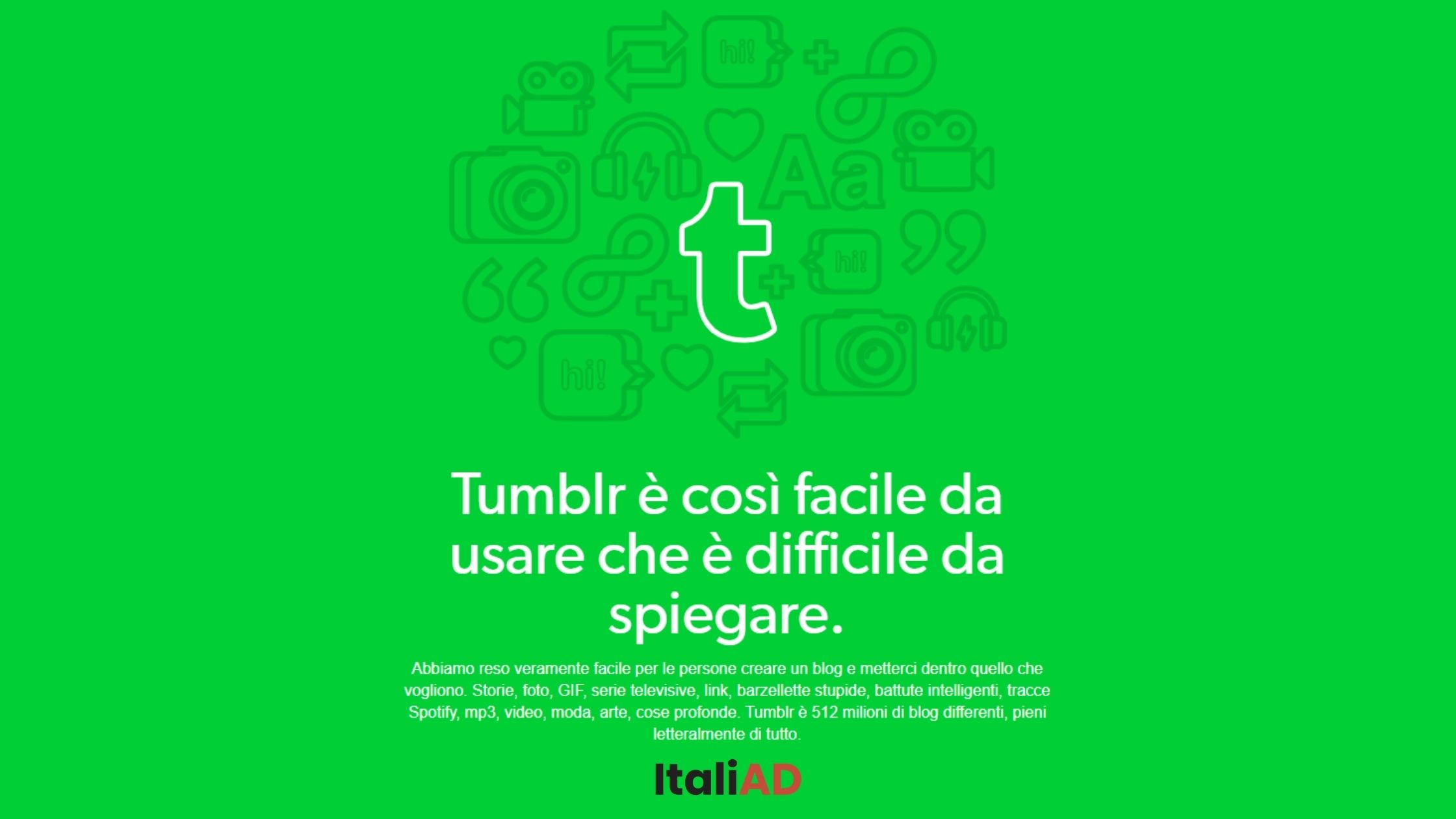 Un po' social network, un po' blog: cos'è Tumblr e come funziona